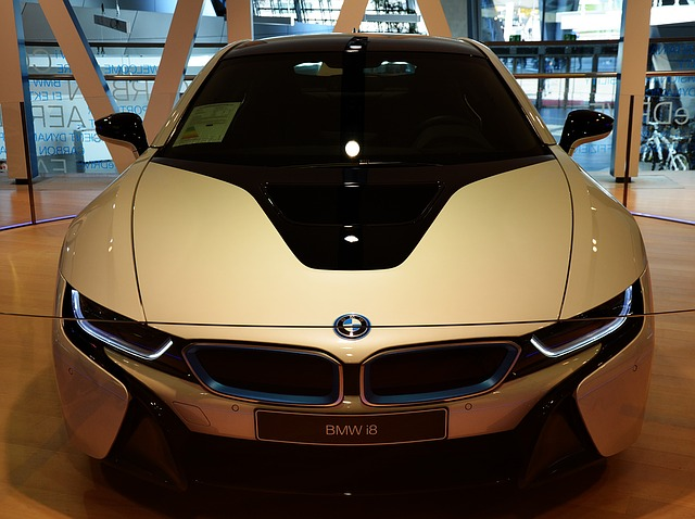 vystavené BMW i8