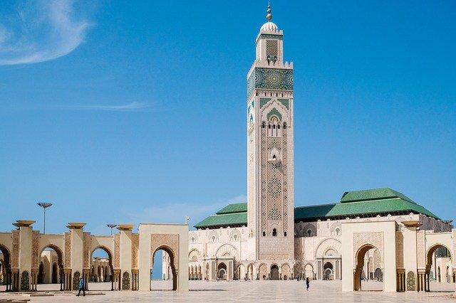 mešita v Maroku