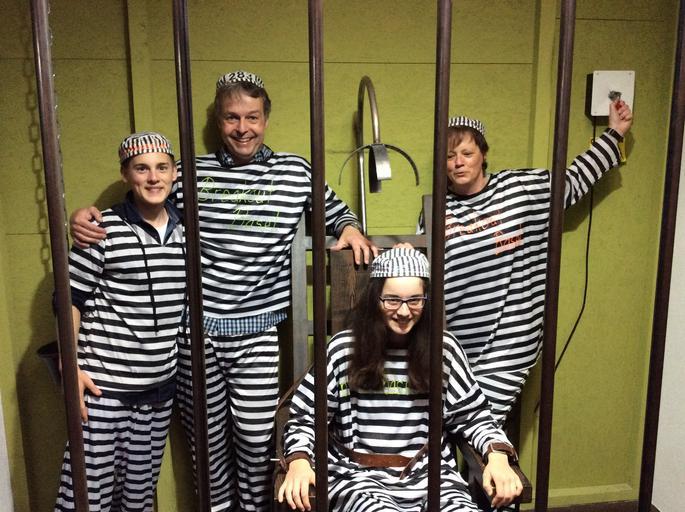 úniková hra na téma vězení