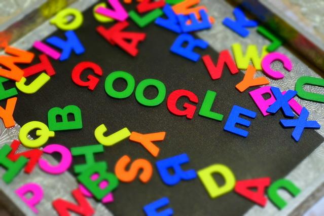Google z písmenek